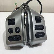 PARA Nissan LIVINA y PARA Nissan TIIDA y botones de control del volante SYLPHY con blacklight Car-styling accesorios botones