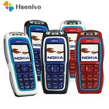 Восстановленное Nokia 3220 GSM сотовый телефон Оригинальный разблокирована Nokia телефон Поддержка русский польский Бесплатная доставка