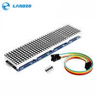MAX7219 Dot Matrix Modul Mikrocontroller 4 In Einem Display mit 5 p Linie