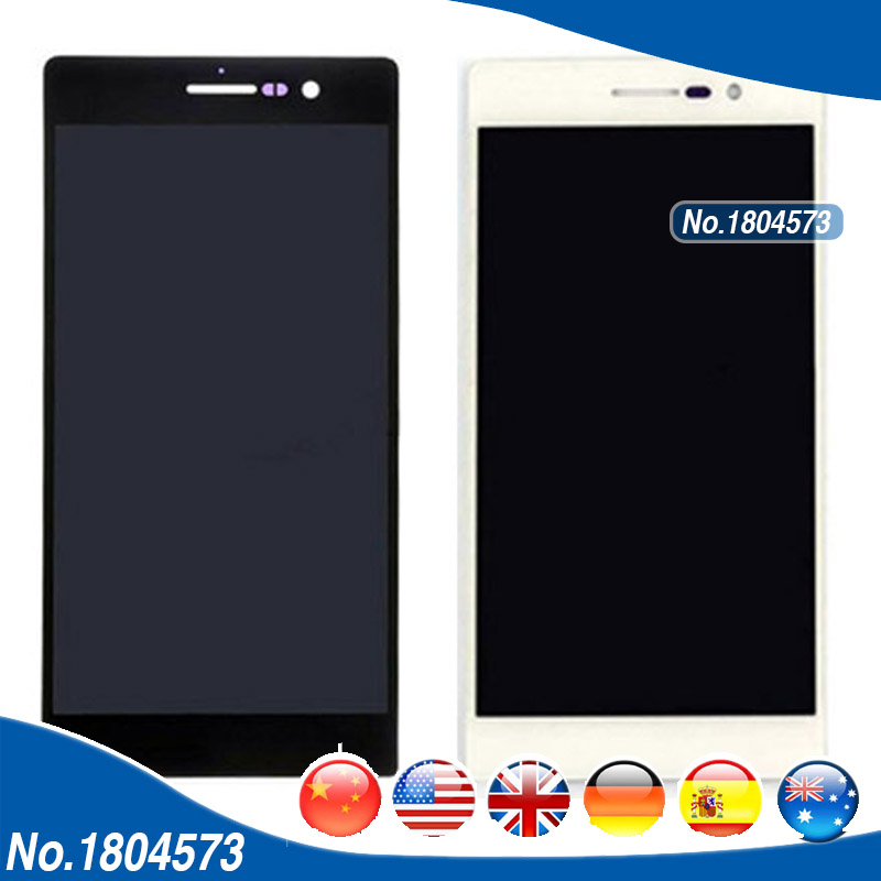 5.0 inch 1920*1080 LCD Display Screen With Touch Screen Assembly For Huawei Ascend P7 LCD Digitizer 1PC/Lot yueyao lcd display digitizer touch screen assembly for huawei ascend p7 p7 l10 p7 l00 p7 l05 lcd screen aseembly