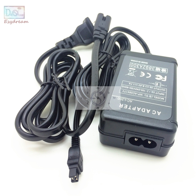 AC Power Adapter Camcorder Charger For Sony ACL25 AC L25 ACL200 AC L200