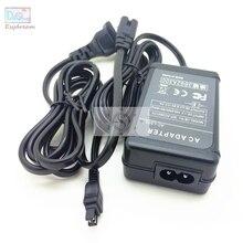 Adattatore di Alimentazione CA Videocamera Caricabatterie Per Il Sony ACL25 AC L25 ACL200 AC L200