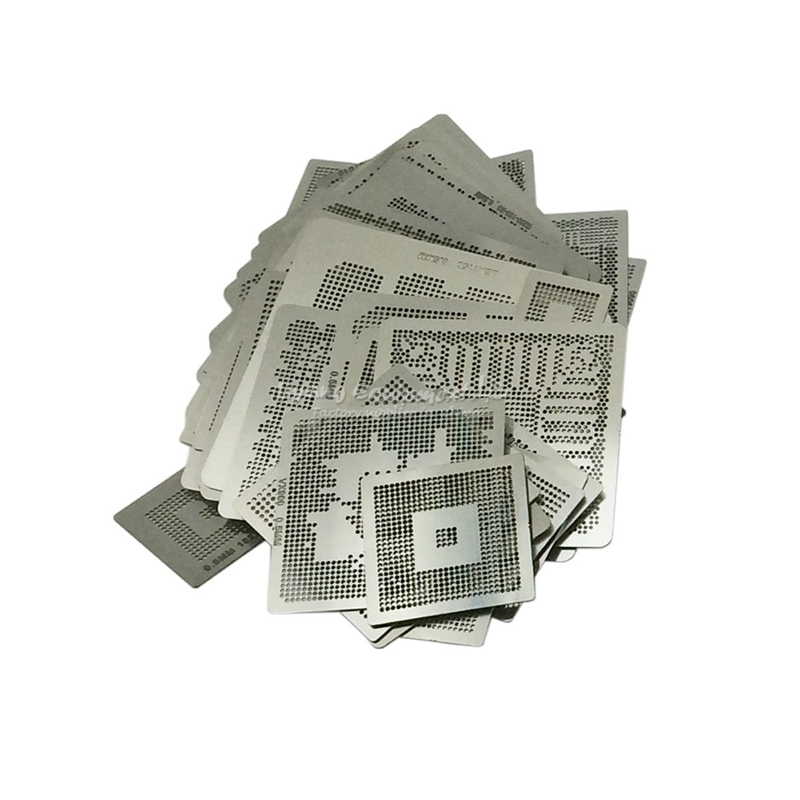 Free Shipping Direct Heat NVIDIA Video chips Stencils 43pcs for NVIDIA graphics card chips