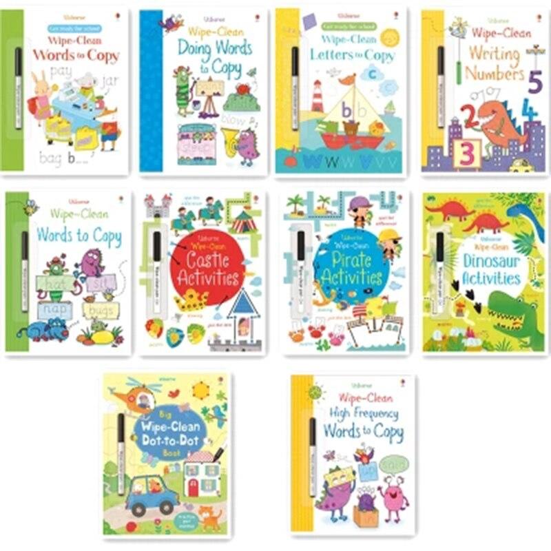 criancas limpar ponto a ponto de desenho livros kids do bebe ingles livros de pintura para