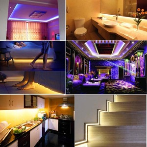 Image 5 - Wifi wireless Controller 5050 RGB Wifi LED Strip light lamp 15M Waterproof IP neon Tape diode ribbon 12V adapter set kitchen