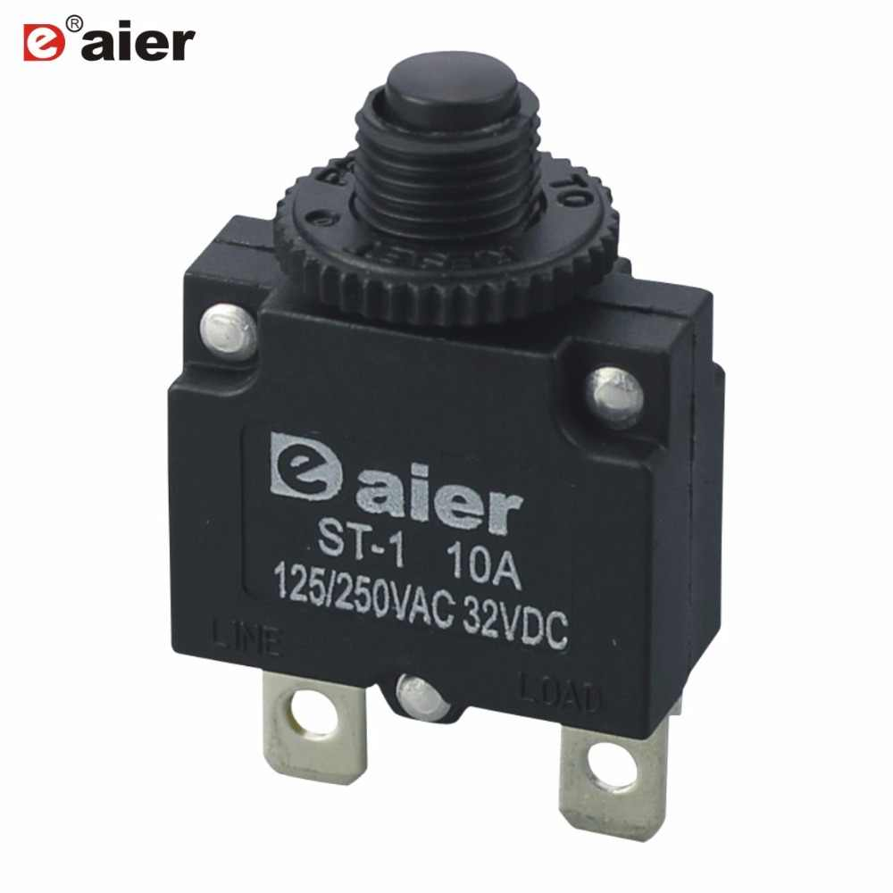 Detail Feedback Questions About 4pcs Metal Rotary Switch 20mm 1 Pole Lot5 8 Position Panel Wiring 1p8t 5pcs Circuit Breaker Overload Protector 5a 10a 15a Black Button Thermal Switches With