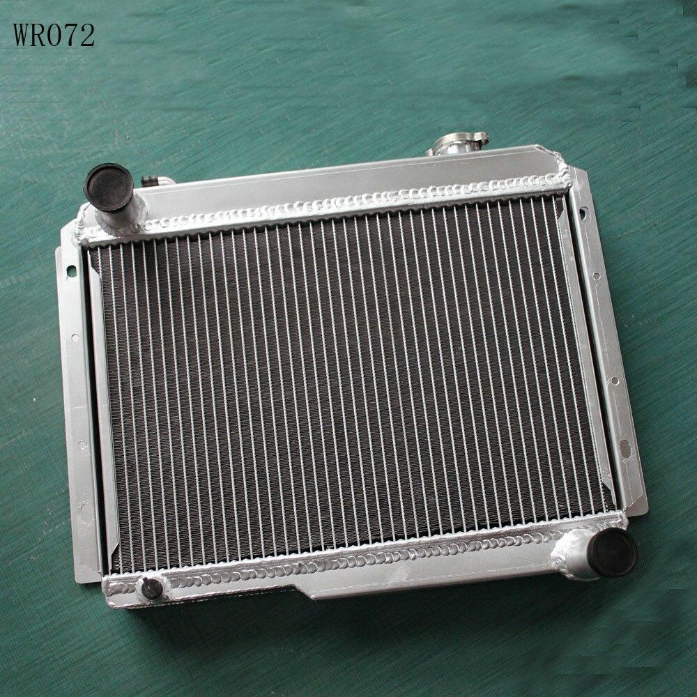 aluminum alloy radiator for Renault Alpine A110 1300 R8 Gordini 1965-1971