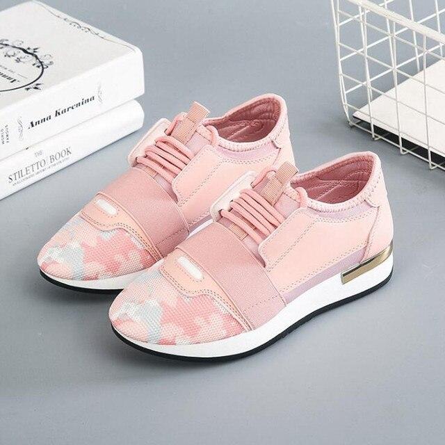 2019 mới xu hướng retro vải Lưới giày của phụ nữ nóng các mô hình mùa xuân mùa thu breathable Bán tốt phụ nữ giản dị của single giày