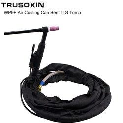 Części narzędzi spawalniczych 3M WP9F chłodzony powietrzem Argon elastyczny spawanie tig Gun Torch z dużym złączem nakrętki w Dysze spawalnicze od Narzędzia na
