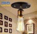 Lâmpada de cobre luz pingente de ferro restaurante lâmpada do teto de metal retrátil luz único pingente luz do vintage estilo americano