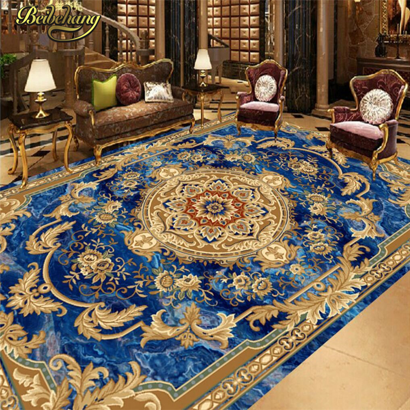 beibehang Custom European marble carpet 3D Photo Wallpaper for Living Room Bedroom Bathroom Floor Painting Wall Mural Wall paper beibehang custom photo floor painted
