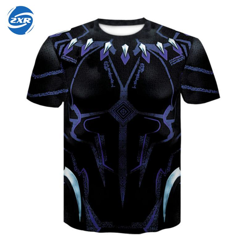Zuoxiangru T-shirt Lauf Männer Fitness Gym T-shirts Tops Slim Fit Shirt Quick Dry 3-dimensional Digitale Druck T-shirt Sport üPpiges Design
