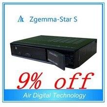 Zgemma Estrellas S decodificador receptor de satélite IPTV set top box nube ibox II + actualización de la venta caliente