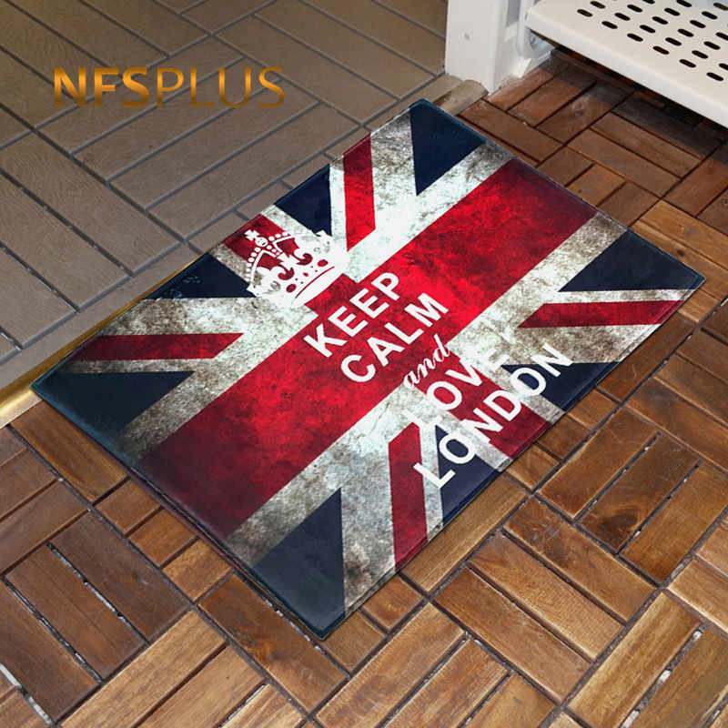 Floor Carpet British Flag Uk Union Jack