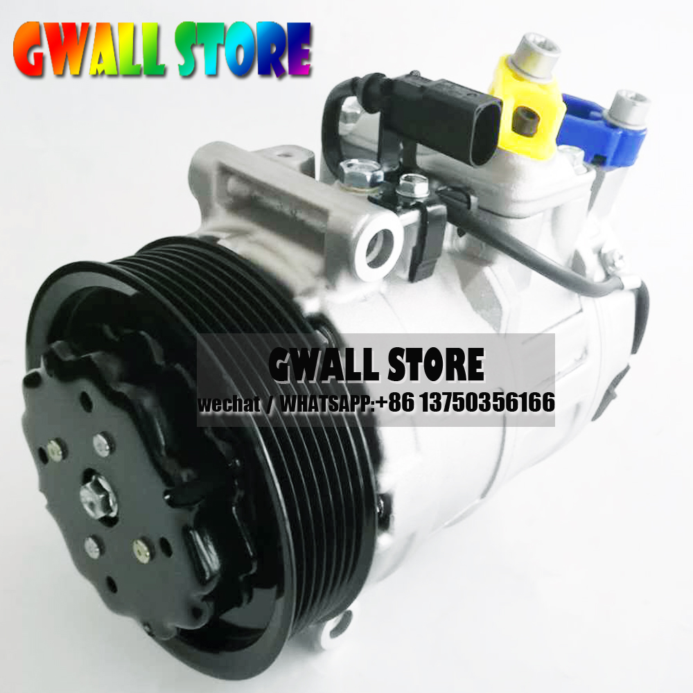 7SEU17C Air Conditioning Ac Compressor For Porsche Cayenne 4.8L 958126014BX 95812601401 94812601100 94812601101 95812601400|Air-conditioning Installation|Automobiles & Motorcycles -