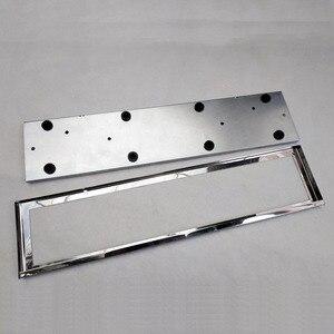 Image 5 - 1 Pcs Car License Plate Frame Metal Frame License Plate Holder Number Plate Holder Fit EU Vehicles Standard Car Styling