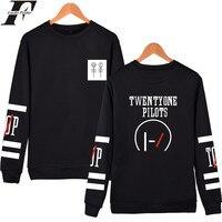 Fashion Style Twenty One Pilots Capless Hoodies Men Brand Designer Mens Sweatshirt 21 Pilots Sweatshirt Men