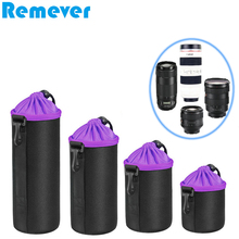 Neoprene Waterproof Bag Drawstring Bags Pouch for Canon Nikon Sony Fujifilm DSLR Cameras Lens Storage Bag for Lens baodeli lens filtro close up macro filter concept 40 5 43 46 49 52 55 58 62 67 72 77 82 mm for canon dslr nikon sony accessories