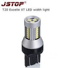 JSTOP XT larghezza luci 7443 lampada Super luminoso 24 V luci Diurne led 12 V T20 W21/5 W lampada 4014SMD Liquidazione Luce di segnalazione a led lampadine