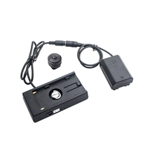 Power Adapter Np-Fz100 Dummy Battery+F970 Battery Backplane Pack Dc Coupler Connector For Sony Camera Battery backplane board for 46c7919 46c7918 x3250m2