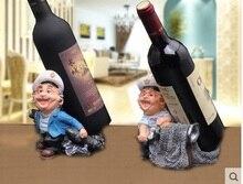 Wine rack Chef wine rack Bar wine rack Home Decor Creative wine rack