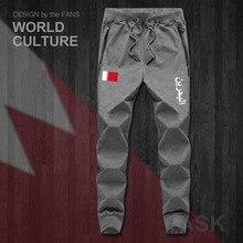 Bahreïn BHR Bahraini Islam arabe hommes pantalons joggers combinaison pantalons de survêtement survêtement fitness polaire tactique décontracté nation nouveau