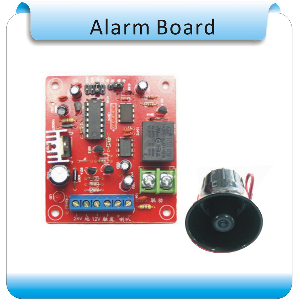 Free Shipping Diy 9 36v Alarm System Integration Module Voice For Sound Sensor This Is The Circuit Control Board Speaker In Kits From Security