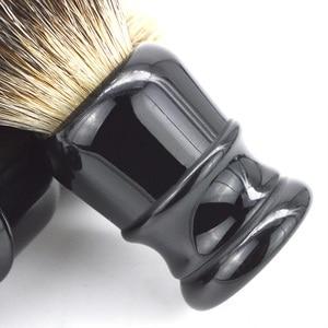 Image 5 - DSCOSMETIC Men 2 band Badger Hair and Black resin handle Shaving Brush