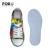 Impressão a Cores Do Arco Íris FORUDESIGNS Leve Sapatos Baixos Esporte Ao Ar Livre Correndo Tênis para Meninos Crianças Tamanho 29-34