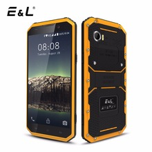 E&L W9 Mobile Phone Waterproof Shockproof Phone IP68 Android 6.0 Inch Octa Core 2GB RAM 16GB ROM 4000 mAh Rugged 4G Smartphone