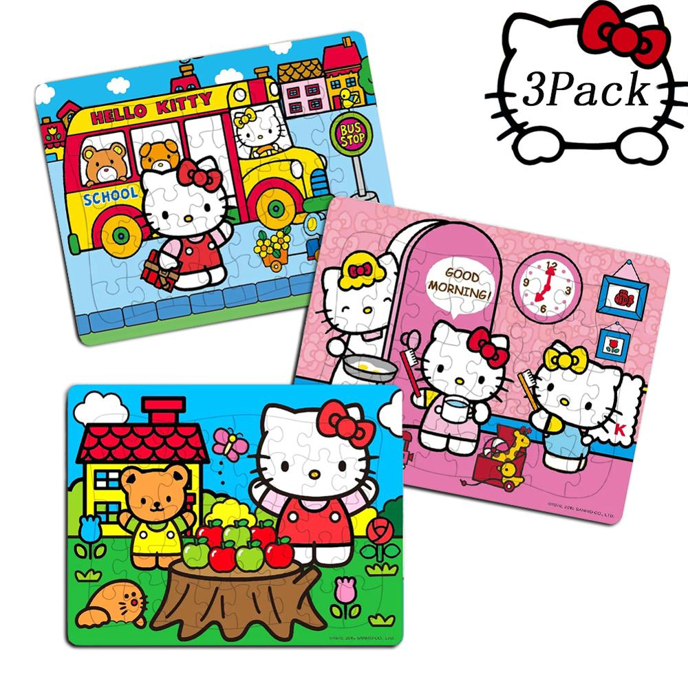Hello Kitty 40 Piece Jigsaw Puzzle For Kids 4-8 For Children Learning Educational Puzzles Toys Christmas Gifts