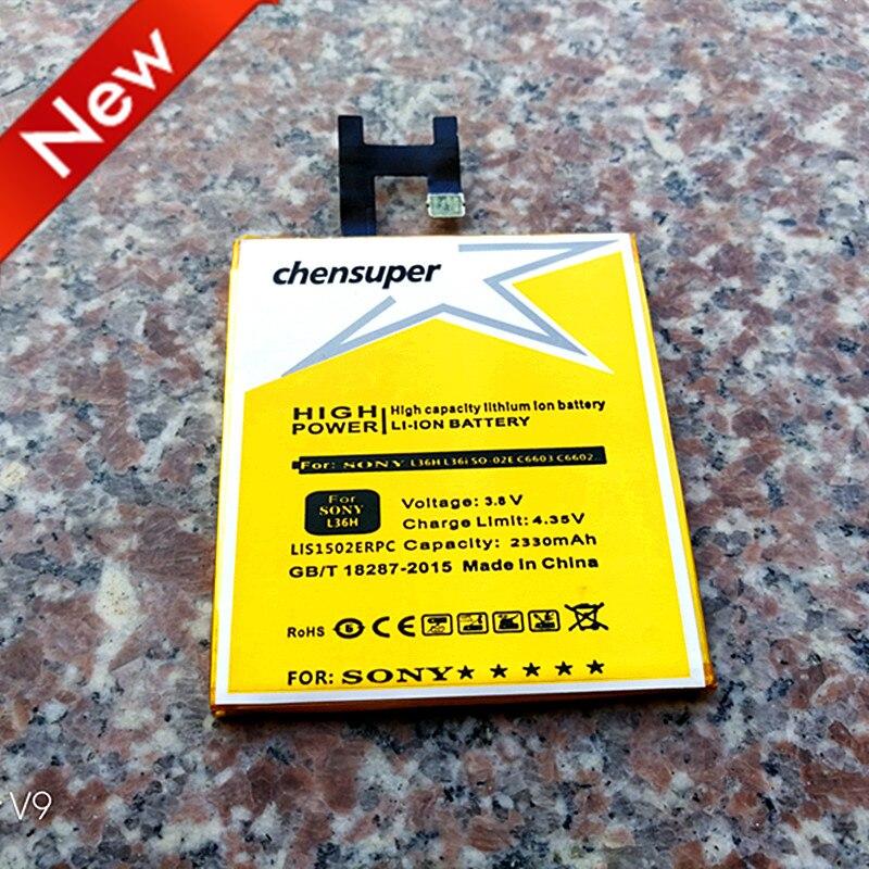 NUOVO 2330 mAh LIS1502ERPC Utilizzare per SONY Xperia Z L36H Batteria C6600 SO-02E C6603 C6602 C660X lt36h L36i S39H Xperia C CN3