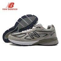NEW BALANCE NB 990 V4 Лето zapatillas hombre Депортива пара демпфирования обувь классические Стиль сетки вамп кроссовки