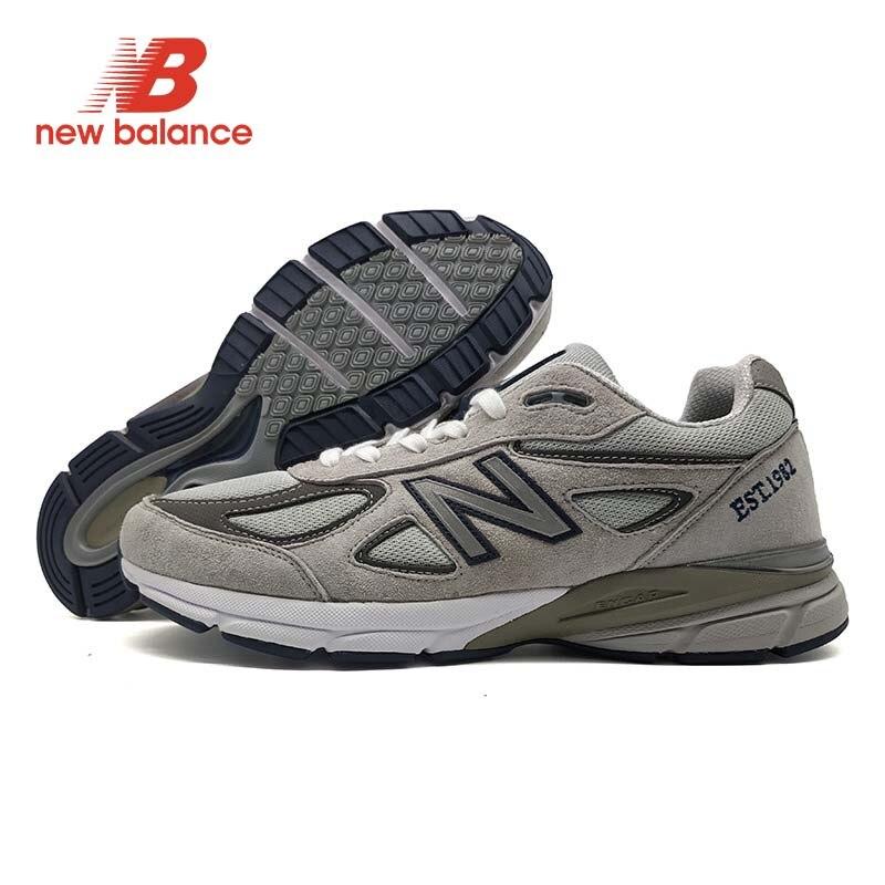 NOUVEL ÉQUILIBRE NB 990 V4 D'été zapatillas hombre deportiva Couple D'amortissement Chaussures Classique Style Maille Vamp Sneakers
