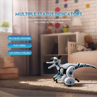 2018 new Intelligent balancing dinosaur zhi long children educational remote control toys multi functional induction robot toys
