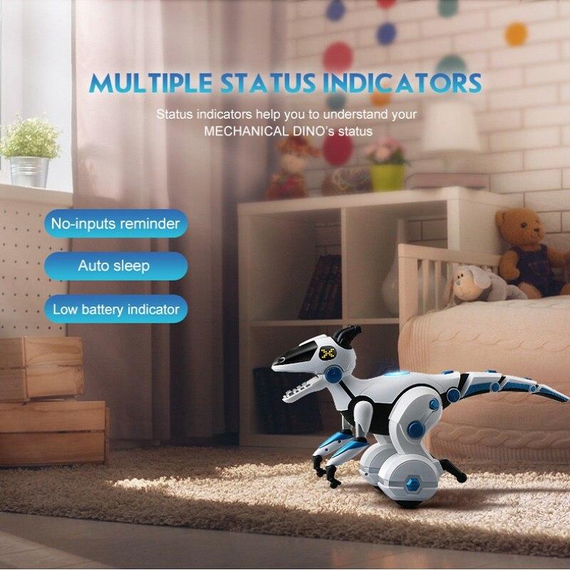 2018 nouveau Intelligent équilibrage dinosaure zhi long enfants éducatifs télécommande jouets multifonctions induction robot jouets
