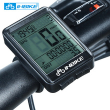 inbike Bicycle English code table wireless riding equipment speed mountain road bike accessories odometer
