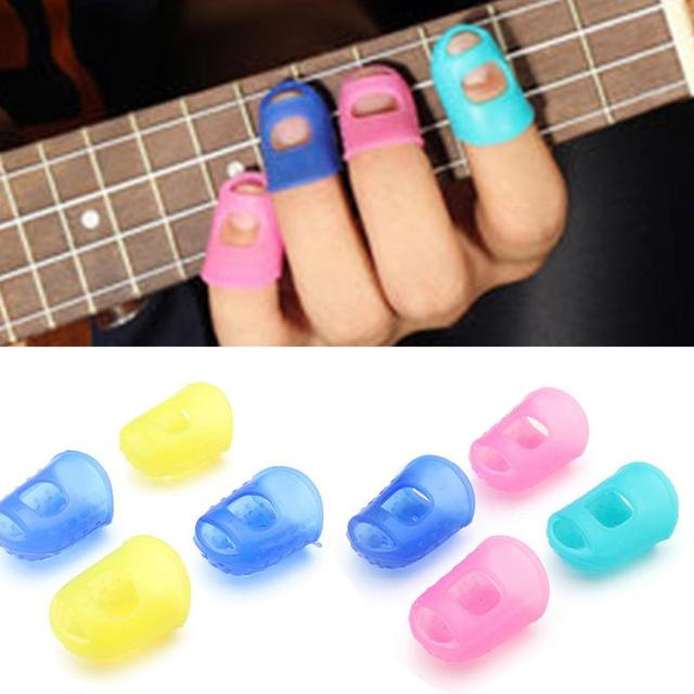 Silicone Finger Guards 4 pcs/Set