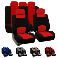 Dewtreetali 9pcs Set Full Set Car Seat Cover Universal Automobile Seat Protector Interior Accessories For VW