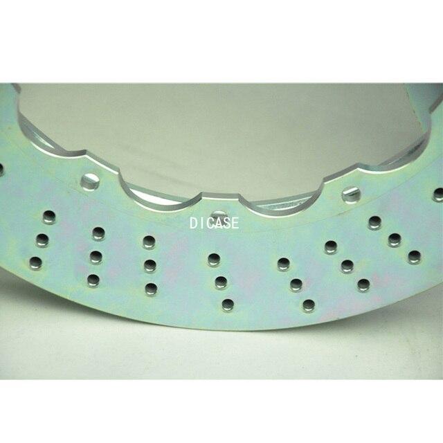 DICASE brake rotor 405*34mm big brake disc for Brembo 6 pot brake caliper for kia sportage