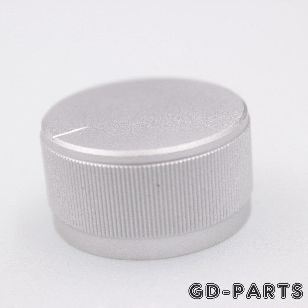 2 UNIDS 30x16mm Plata Mecanizado Perilla de Volumen de Aluminio - Audio y video casero