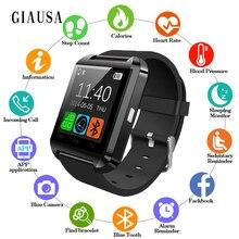 2019 Bluetooth Smart Watch U8 For iPhone IOS Android Women Smart Phone Wear Clock Wearable Device Men Smartwatch PK GT08 DZ09