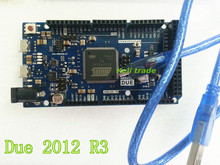 Free Shipping 2pcs /lot For Arduino Due 2012 R3 ARM Version Main Control Board