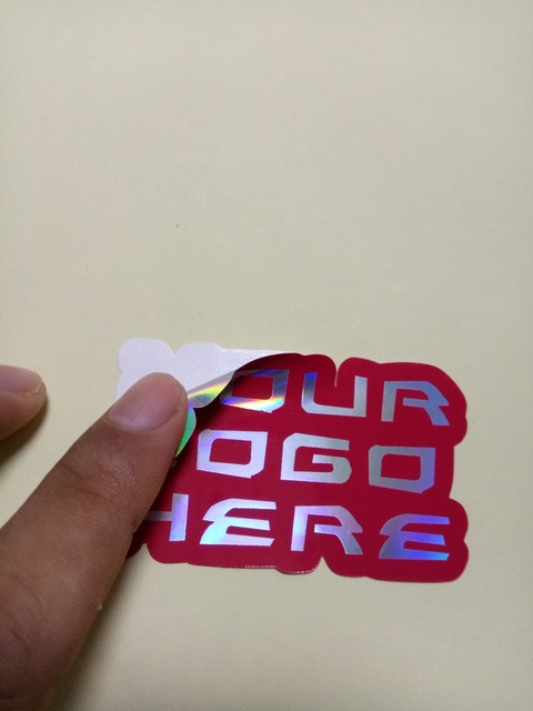 Guangzhou custom logo round paper sticker printing wholesale