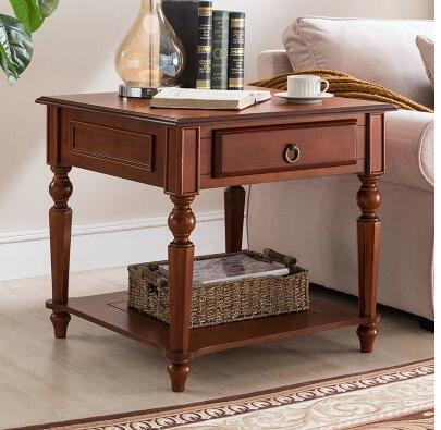 American sofa edge a few European style living room round small square table small round table coffee table side table.|Coffee Tables| |  - title=