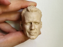 цена на 1/6 Bruce Willis Unpainted Head Sculpt
