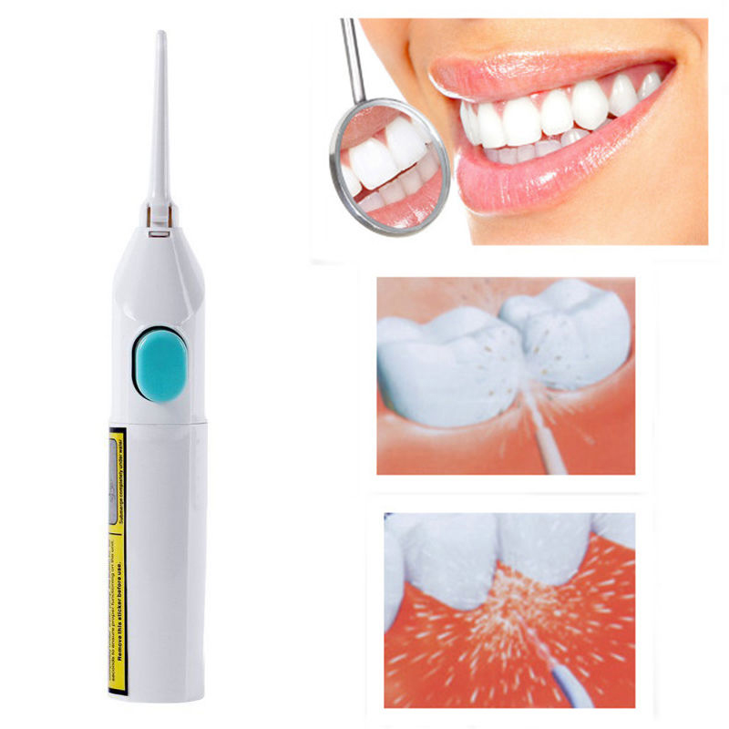 Oral Irrigator Dental Water Jet Floss Pick Teeth Cleaning Flusher Air Powered 1pc dental water flosser electric oral teeth dentistry power floss irrigator jet cavity oral irrigador cleaning mouth accessories