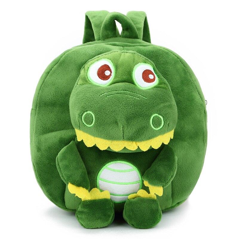 04e885e9a99c Designer Kids Backpacks Dinosaur monster kindergarten backpack Cartoon  Animal Shoulder School Bag For nursery baby Girls Boys