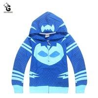 Pjmasks Boy S Hoodie Cartoon Coat Children Sweatshirt Baby Boys Hoodies Casual Kids Jacket Outerwear Boys