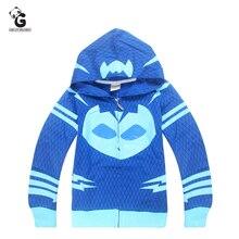 PJ T shirts masks Boy s Hoodie Coat Children Sweatshirt Boys font b Hoodies b font